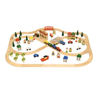 Town and Country Play Set by BigJigs Toys