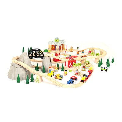 Mountain Railway Play Set by BigJigs Toys