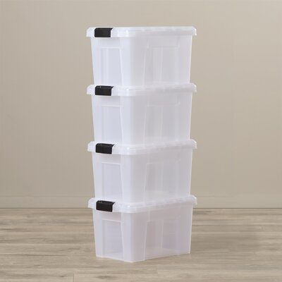 Storage bins to get organized
