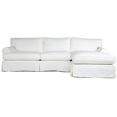 Conrad Upholstered Chaise Sectional by Jaxon