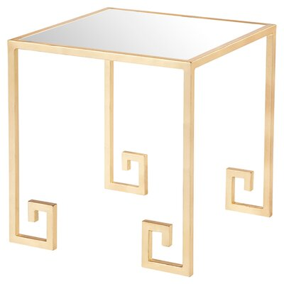 Mirrored Side Table by Mercer41