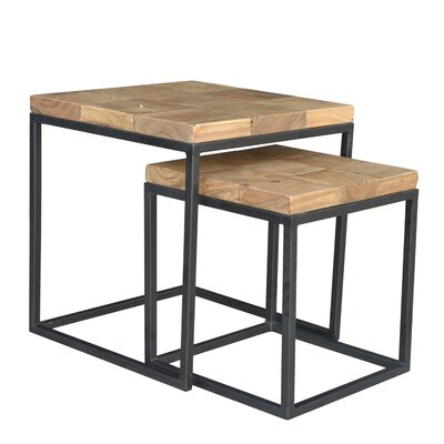Hermes 2 Piece Nesting Tables by endygo