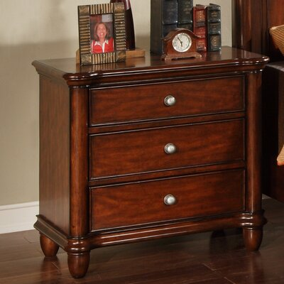 Picket House Furnishings Ethan 3 Drawer Nightstand