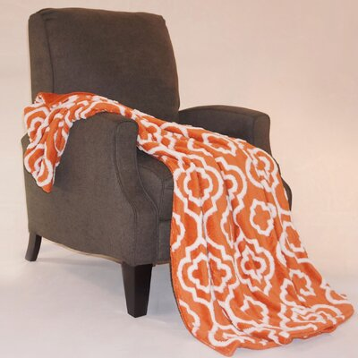 Jacquard Sherpa Throw Blanket by BOON Throw & Blanket