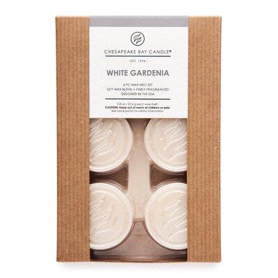 Hertitage White Gardenia Wax Melt Candle by Chesapeake Bay Candles