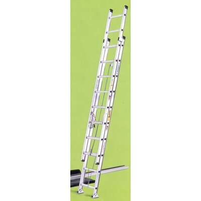Werner 24 ft Aluminum Extension Ladder with 225 lb. Load Capacity