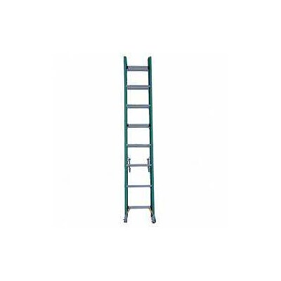 Werner 16 ft Fiberglass Extension Ladder with 225 lb. Load Capacity