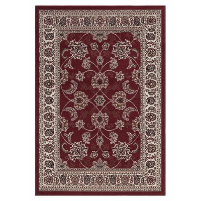 Clifton Traditional Persian Oriental Red Area Rug by sweet home stores