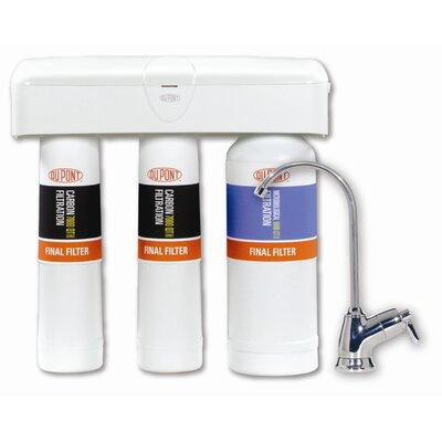 QuickTwist 3-Stage Drinking Water Filtration System Product Photo