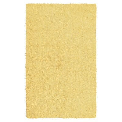 KAS Rugs Bliss Canary Yellow Area Rug