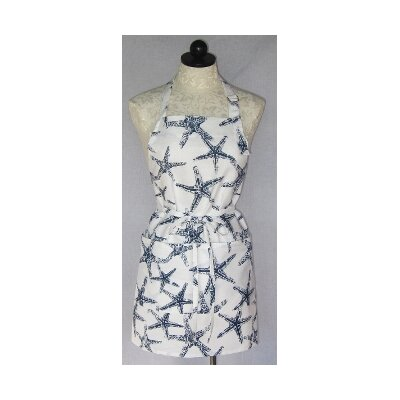 Cotton Starfish Apron by SF Bay Aprons