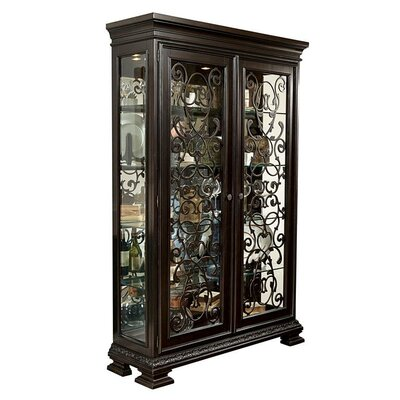 Monarch China Cabinet by Samuel Lawrence
