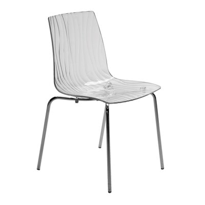 Upon Calima Mite Armless Stacking Chair by Grandsoleil