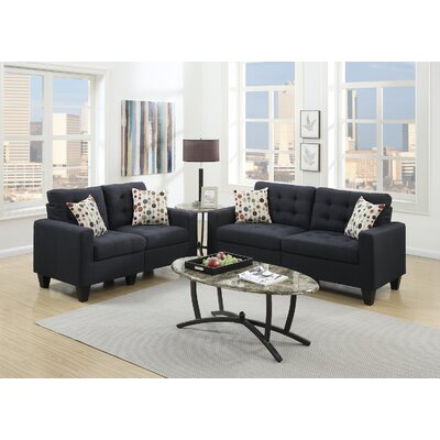 Infini Furnishings IFIN1063 Sofa and Loveseat Set