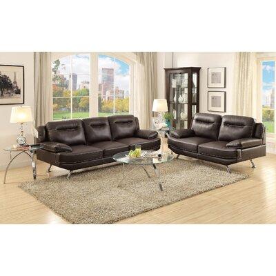 Infini Furnishings IFIN1072 Sofa and Loveseat Set