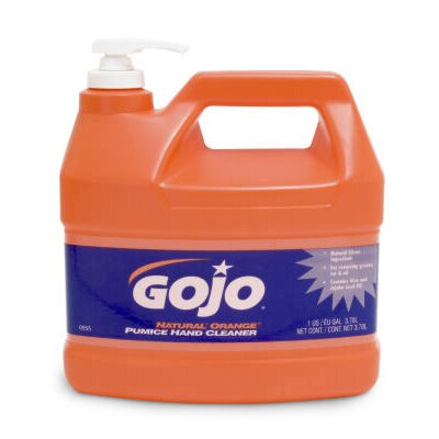 Gojo Natural Orange Pumice Hand Cleaner - 1 Gallon