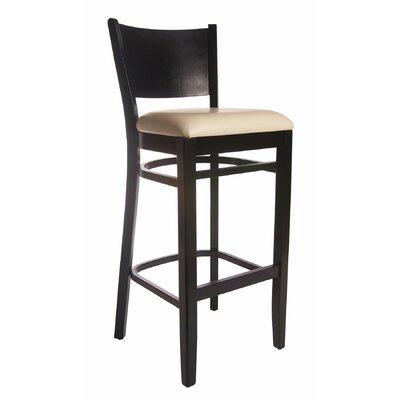 """Benkel Seating Winston 30"""" Bar Stool with Cushion"""