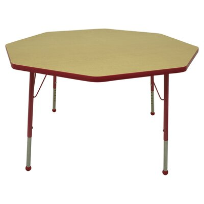 "Mahar Creative Colors 48"" Octagon Classroom Table"