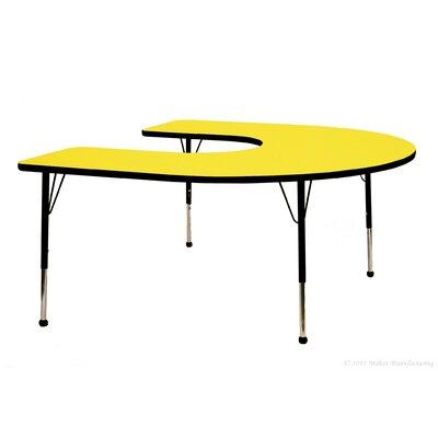 "Mahar Creative Colors 66"" x 60"" Horseshoe Classroom Table"