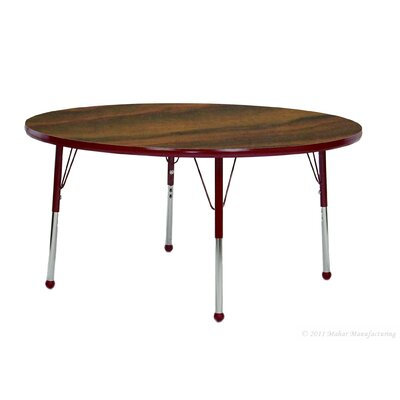 "Mahar Creative Colors 36"" Round Classroom Table"