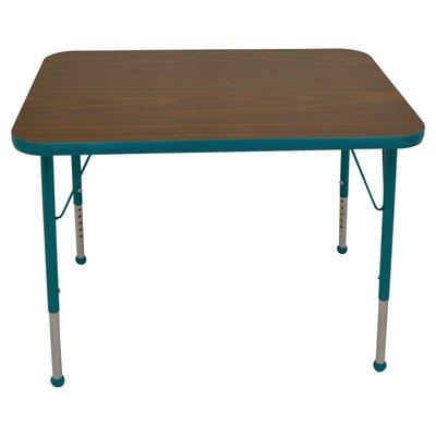 "Mahar Creative Colors 48"" x 30"" Rectangular Classroom Table"