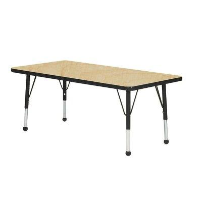 "Mahar Creative Colors 36"" x 24"" Rectangular Classroom Table"