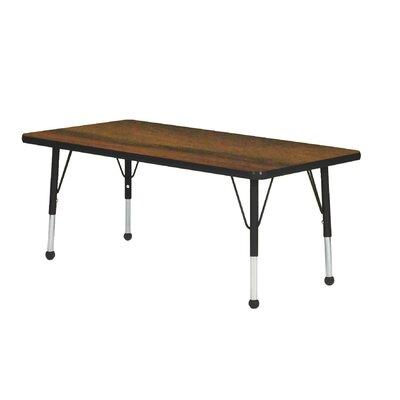 "Mahar Creative Colors 48"" x 24"" Rectangular Classroom Table"