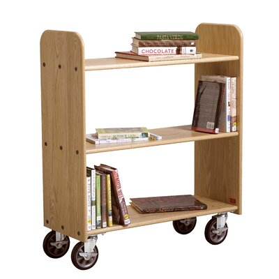 Diversified Woodcrafts Mobile Series Book Cart