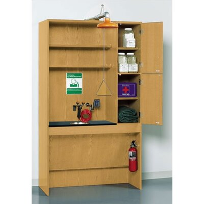 Diversified Woodcrafts Shower/Eye Wash Station