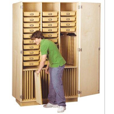 Diversified Woodcrafts Art Supply Cabinet