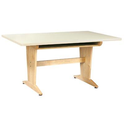 "Diversified Woodcrafts 60"" x 42"" Rectangular Classroom Table"