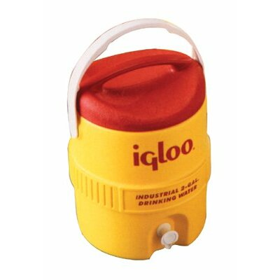 Igloo 400 Series Coolers - 3gal red/yellow coolerplastic ind