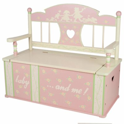 Rock-A-My-Baby Kid's Storage Bench by Levels of Discovery
