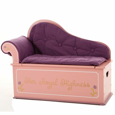 Princess Painting Kid's Chaise Lounge by Levels of Discovery