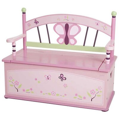 Sugar Plum Kid's Storage Bench by Levels of Discovery