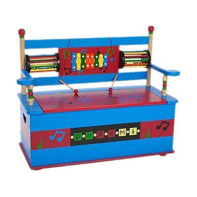 Musical Kid's Storage Bench by Levels of Discovery