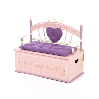 Princess Kid's Storage Bench by Levels of Discovery