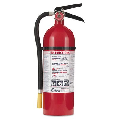 Kidde Proline Pro 5 Multi-Purpose Dry Chemical Fire Extinguisher