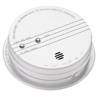 Kidde - Interconnectable Smoke Alarms Smoke Alarm Photoelectric 120Vac: 408-21006371 - smoke alarm photoelectric 120vac Product Photo