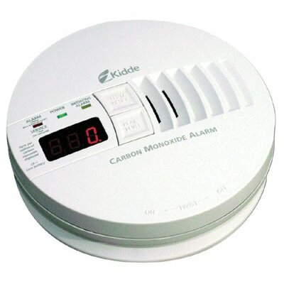 Kidde - Carbon Monoxide Alarms Carbon Monoxide Alarm Digital Display: 408-21006407 - carbon monoxide alarm digital di... Product Photo