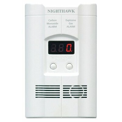 Kidde - Direct Plug & Batt Operated Co Alarms Co & Explosive Gas Alarm/9V Bat Bu: 408-900-0113-02 - co & explosive ga... Product Photo