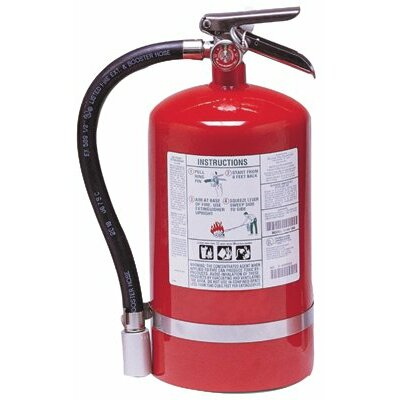 Kidde Kidde - Halotron I Fire Extinguishers 11Lb Fire Extinguisher: 408-466729 - 11lb fire extinguisher