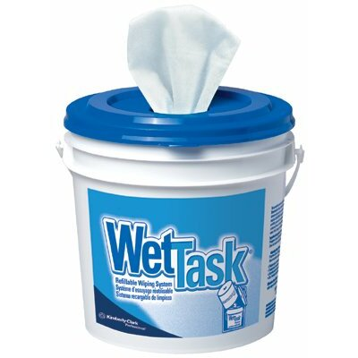 Kimberly-Clark Kimtech Prep® Wipers - wet task wiper 12x12.5 60/roll wht