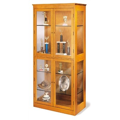 "Hale Bookcases 200 Signature Series 5 Shelf 78.5"" Barrister Bookcase"
