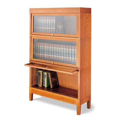 "Hale Bookcases 800 Sectional Series 53.5"" Barrister Bookcase"