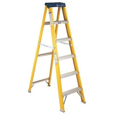 Louisville Ladder 6 ft Fiberglass Step Ladder with 250 lb. Load Capacity