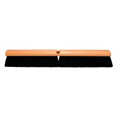 "Magnolia Brush No. 18 Line Floor Brushes - 18"" floor brush w/a60 337a1a black tampi"