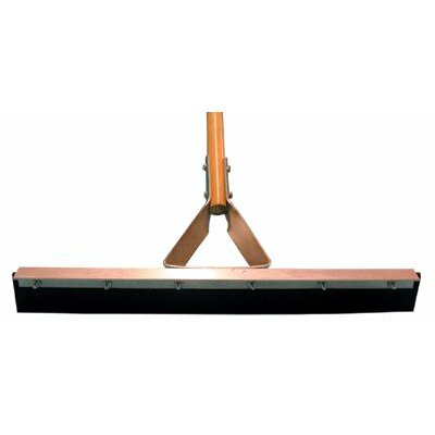 "Magnolia Brush Straight Squeegees - 24"" driveway squeegee with handle"