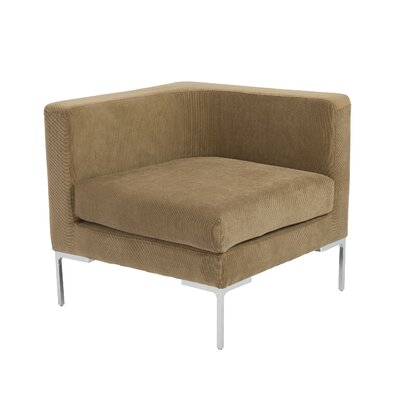 Vittorio Convertible Sofa with Arms Unit by Eurostyle