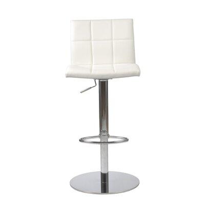 Eurostyle Cyd  Adjustable Height Swivel Bar Stool with Cushion